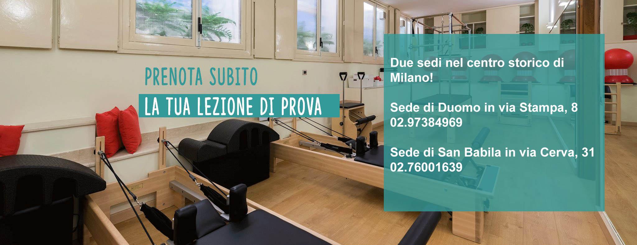 Palestra Pilates Santa Giulia Milano - Prenota subito la tua lezione di prova